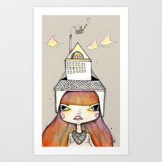 To Make a Home Art Print