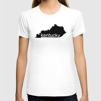 kentucky T-shirts featuring Kentucky by Isabel Moreno-Garcia