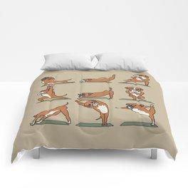 Boxer Yoga Comforters