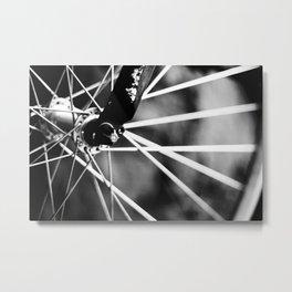 Ride II Metal Print
