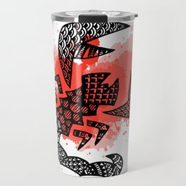 Zodiac Zentangle - Scorpius Travel Mug
