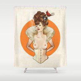 Miss Virginia Shower Curtain