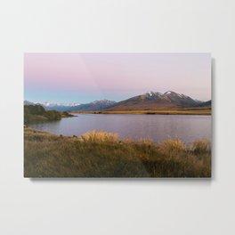Sunrise at Lake Clearwater Metal Print