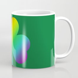 Rainbow Shamrock St Patricks Day Gift Coffee Mug