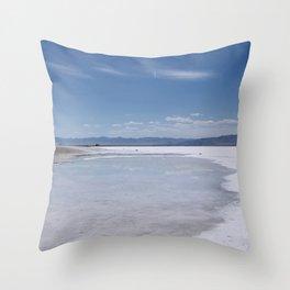Salt Flats 1 Throw Pillow