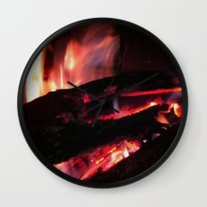 Bonfire2~takibi~ Wall Clock
