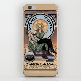 Doctor Who: Silence Will Fall iPhone Skin
