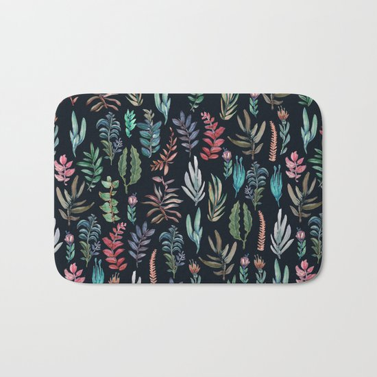 For Her, (nigth Garden!!) Bath Mat