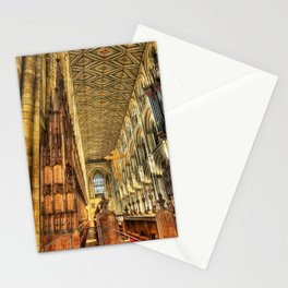 The Carved Pews Stationery Cards
