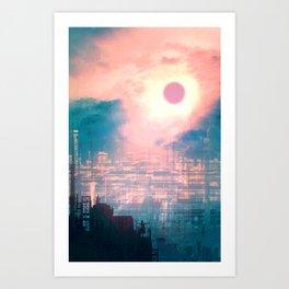 The Pink Distance Art Print