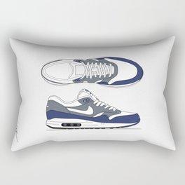 Air max essential 1 blue/white #2 Rectangular Pillow