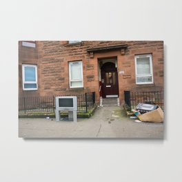 Surface Tension: 1541 Dumbarton Road Metal Print