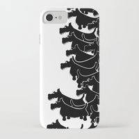 terrier iPhone & iPod Cases featuring Scottish Terrier by mailboxdisco