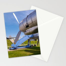 One engine of the Lockheed super constellation Stationery Cards