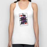 lawyer Tank Tops featuring Vigilante Named by Rachcox