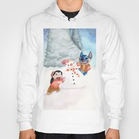lilo and stitch Hoodies featuring Lilo and Stitch by Walko