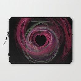 Valentine's Fractal VII - Dark Laptop Sleeve