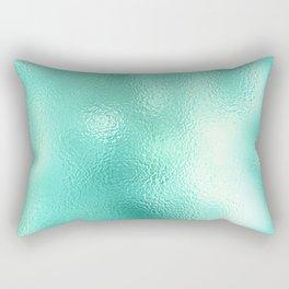 Turquoise Texture Rectangular Pillow