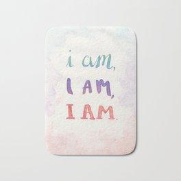 I Am, I Am, I Am Bath Mat