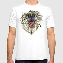 Ornate Color Rafiki T-shirt