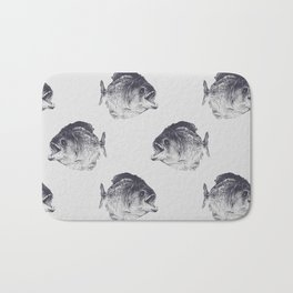 Piranha Bath Mat