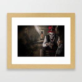 Voodoo Boss Framed Art Print