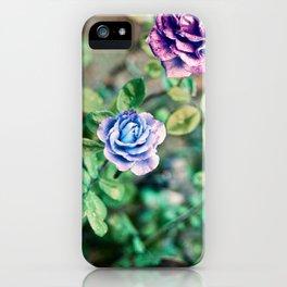 Neon Roses iPhone Case