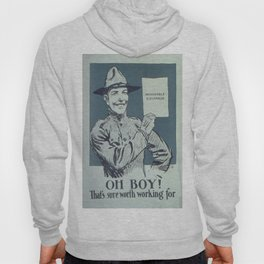 Vintage poster - Honorable Discharge Hoody