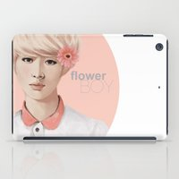 exo iPad Cases featuring Flower Boy - Luhan by putemphasis