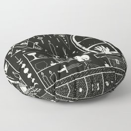 Moon Altar Floor Pillow