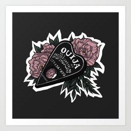 Ouija Planchette Art Print