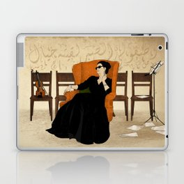 Umm Kulthum Laptop & iPad Skin