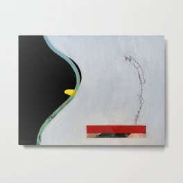 Eliminate Clutter (oil on canvas) Metal Print