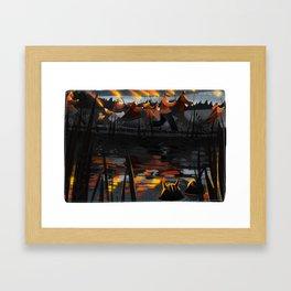 Midsummer VII Framed Art Print