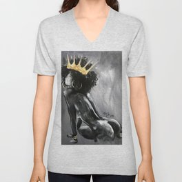 Naturally Queen VIII Unisex V-Neck