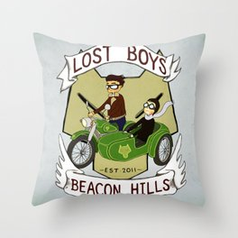 Lost Boys Throw Pillow