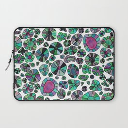 Barca Dots green/pink Laptop Sleeve