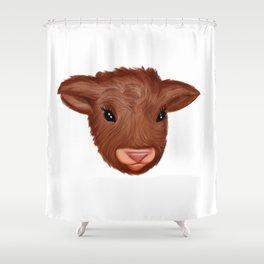 Fluffy Friend Shower Curtain