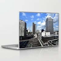 memphis Laptop & iPad Skins featuring Memphis Blues  by Invert The World