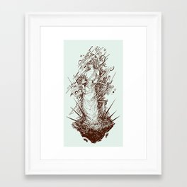 des cartisae Framed Art Print