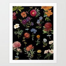Vertical Garden IV Art Print