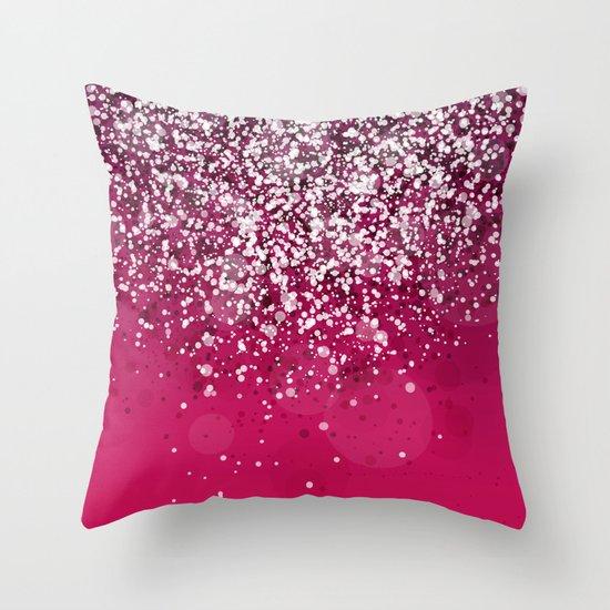 Silver IV Throw Pillow