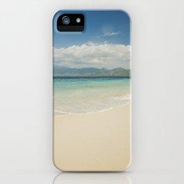 Gili meno island beach iPhone Case