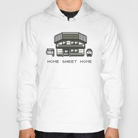 home sweet home Hoodies featuring Home Sweet Home  by Zeke Tucker