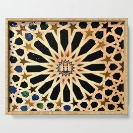 Azulejo de La Alhambra Serving Tray