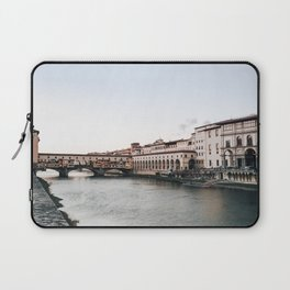 Ponte Vecchio in Florence Laptop Sleeve