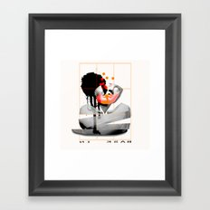 Bask In Framed Art Print