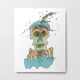 Skeleton-2 Metal Print