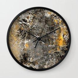 Pollock Influence Wall Clock