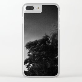 stormy landscape Clear iPhone Case